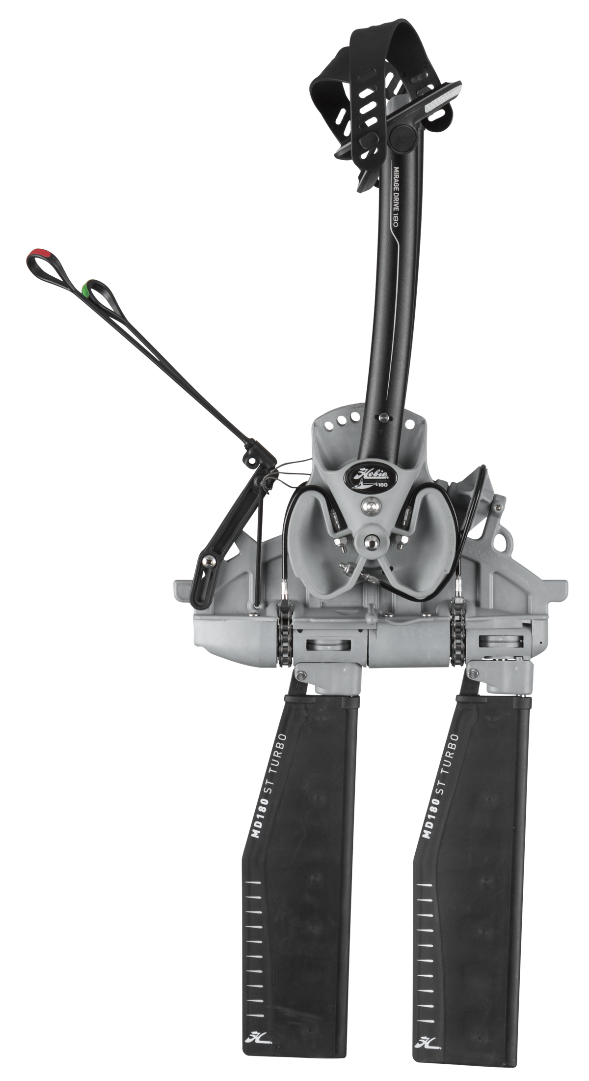 The Hobie MirageDrive 180 - Side Profile Full