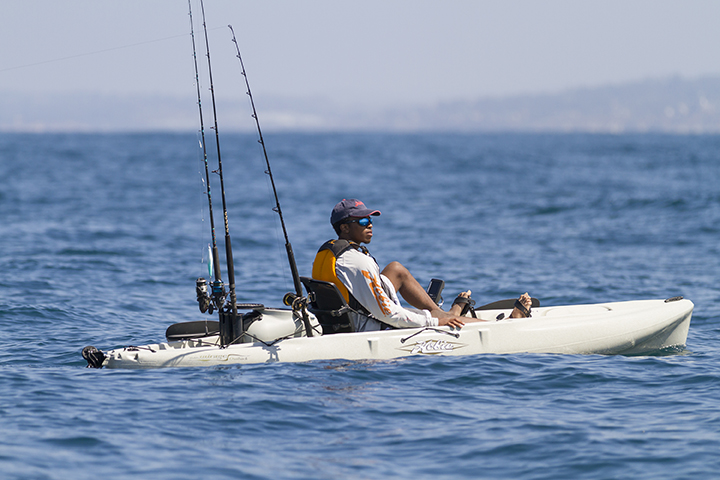 The Hobie Outback is a great all around performer
