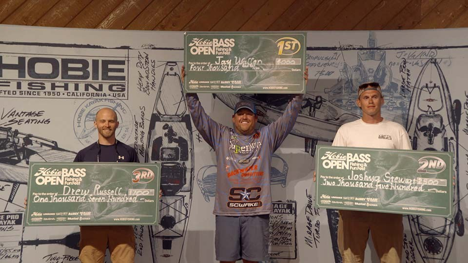 Hobie Bass Open Kayak Fishing Tournament at Kentucky Lake