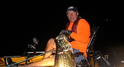 Article image - Stalking Panhandle Tarpon in the Dark