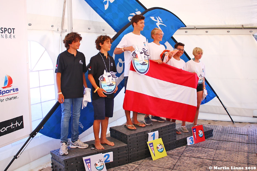 Podium 2018 Danemark