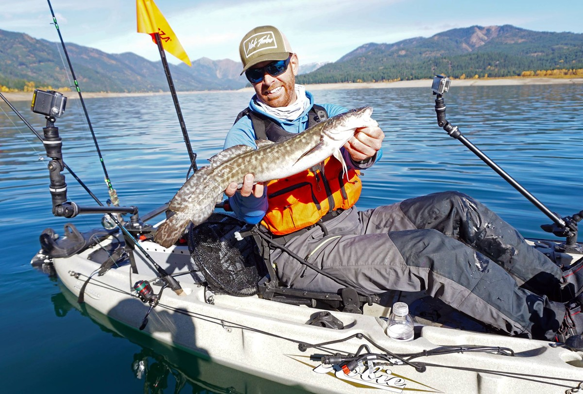 Article image - Jigging for Mackinaw and burbot