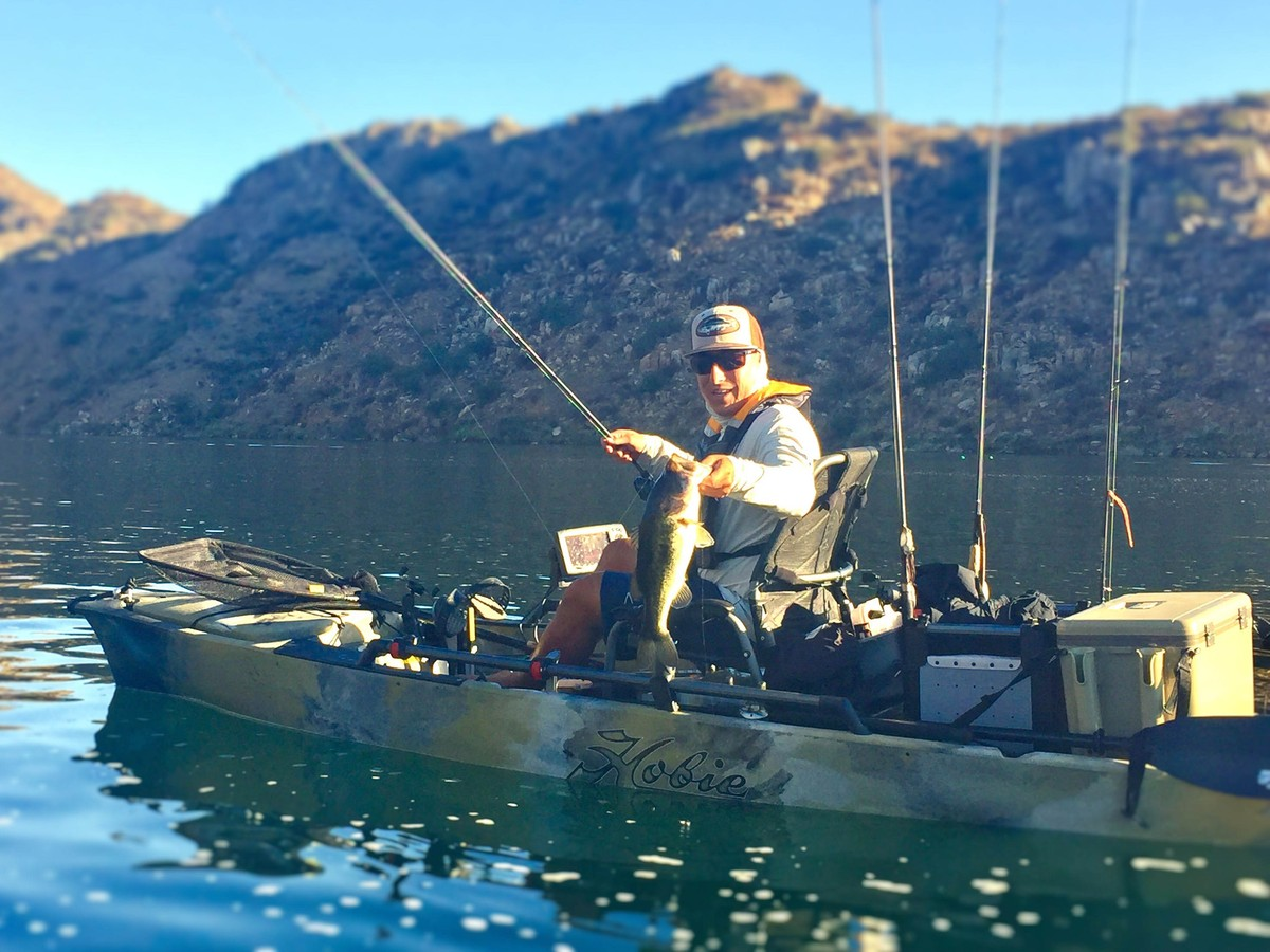 The Best Bass Fishing in Southern California | Hobie