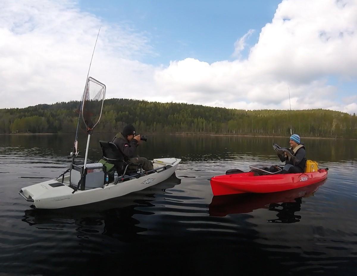 Kayak Fishing Sweden S Lake Vanern Hobie