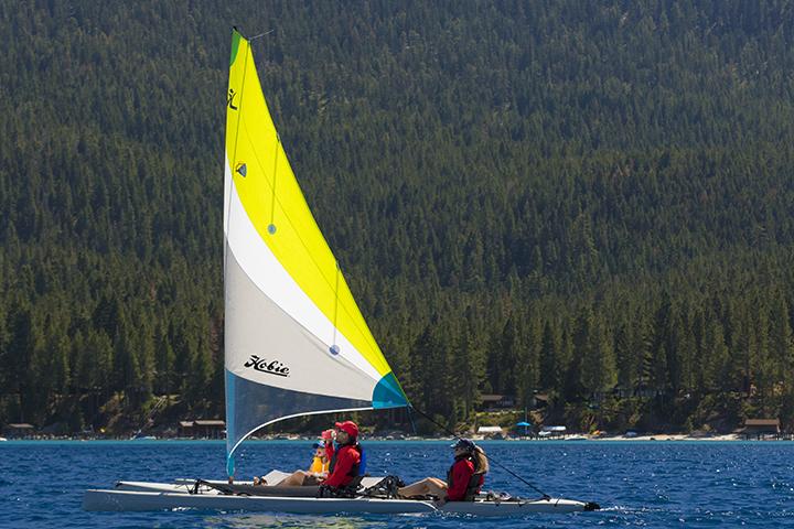 The Hobie Tandem Island is the ultimate sailing kayak!