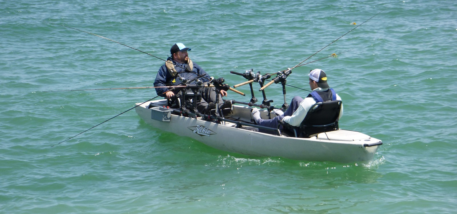 Article image - Trolling Six Lines on the Pro Angler 17T