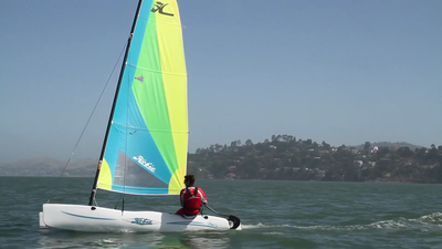 Wave Sailing in Sausalito
