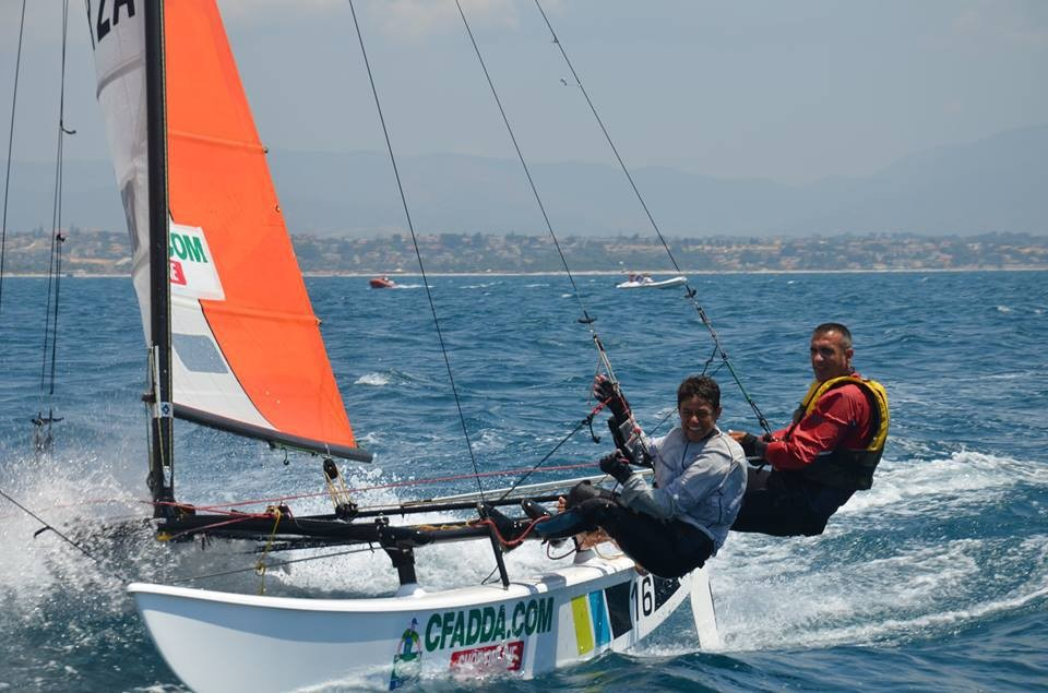 Article image - 2017 Hobie 16 Italian champions