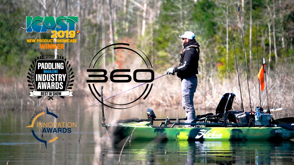 360 Degrees of Fun with Hobie Fishing Kayaks