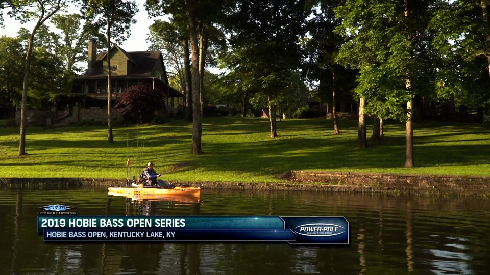 2019 Hobie Bass Open on Kentucky Lake