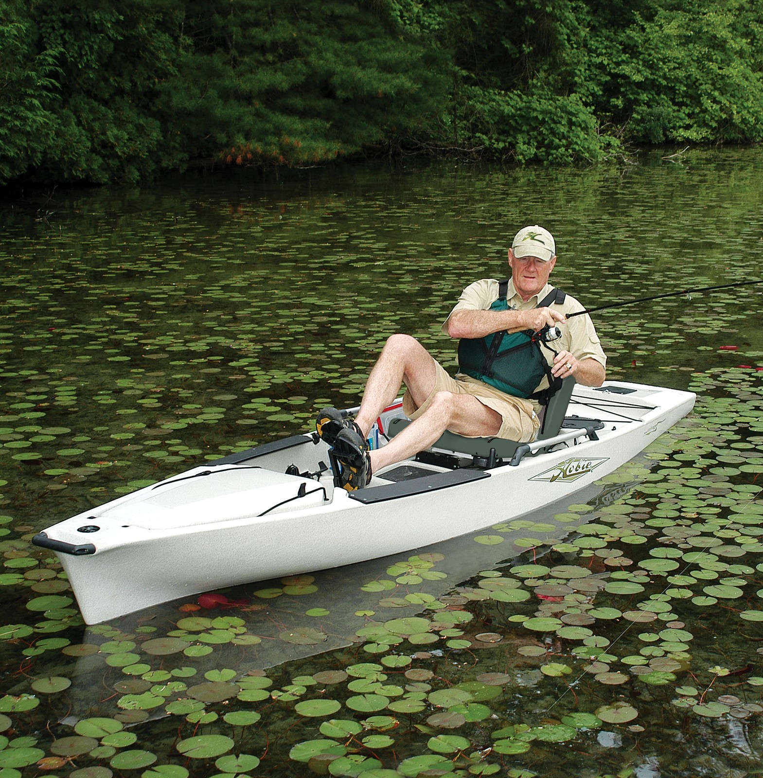 Kayak fishing bass boats canoes kayaks and more bass for Bass pro fishing kayak