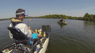 Na Estrada 2013: Lucas Steward em OK / Crooked Creek, AR Bass