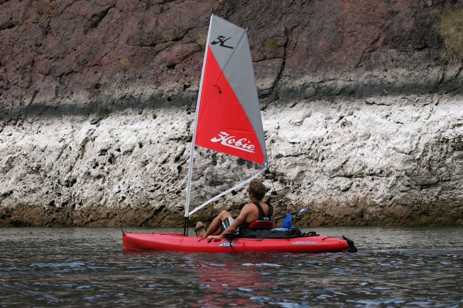 The Sail Kit Can Be Added To Many Different Hobie Mirage Kayak Or Pro Angler Models And It Makes Sailing Fun Easy
