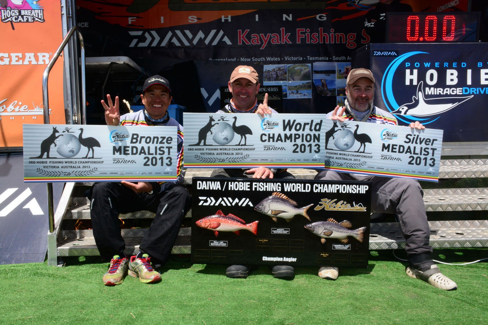 Hobie Fishing World Winners