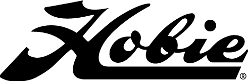 "DECAL ""HOBIE"" SCRIPT BLACK"