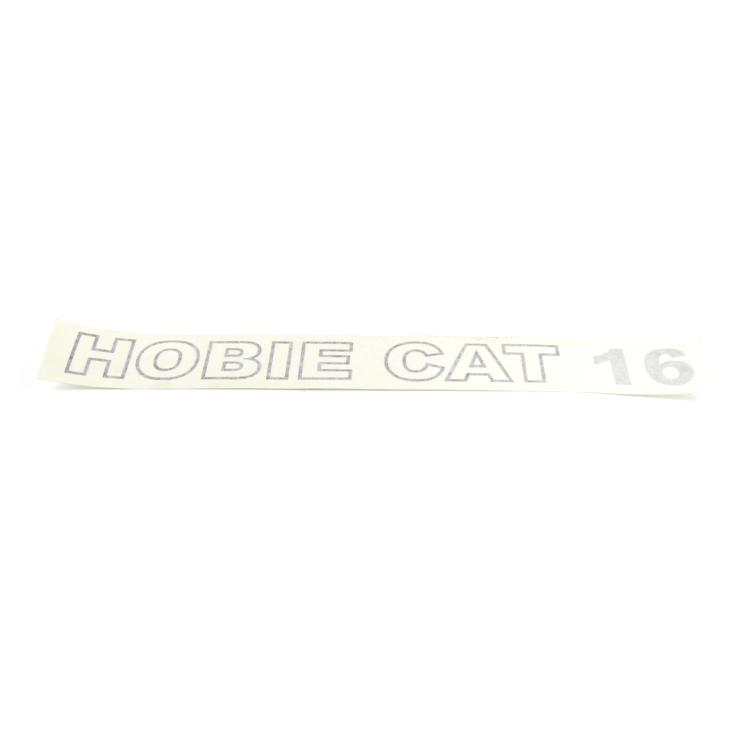 DECAL HOBIE CAT 16 (BLK/SLVR)