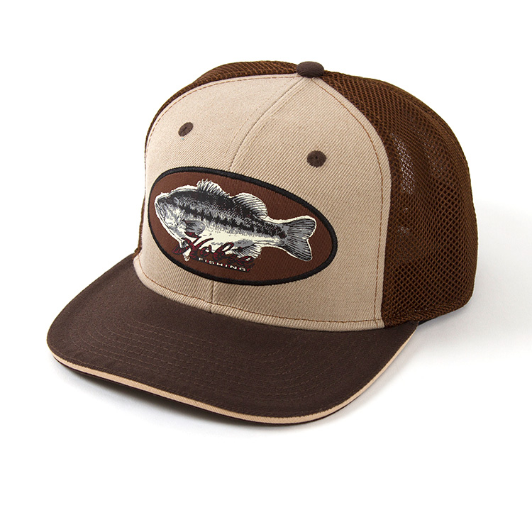 HAT, HOBIE BASS PATCH