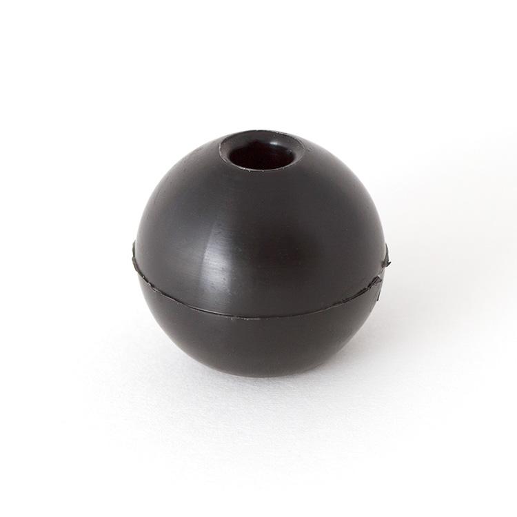 BALL MEDIUM 6 MM BLACK