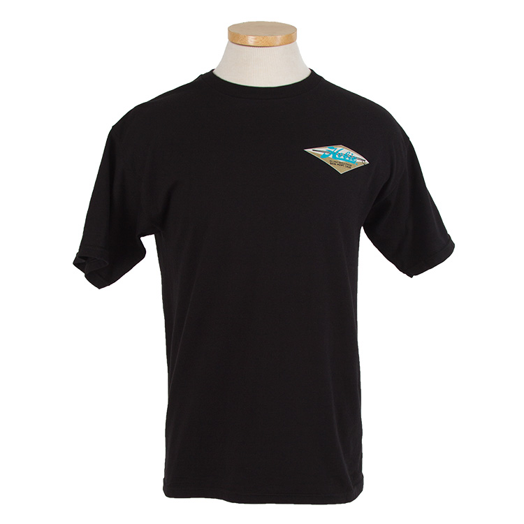 DIAMOND BLK MENS S/S T L