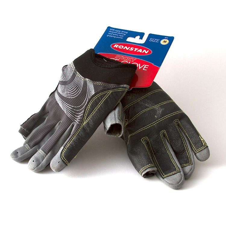 GLOVES-3 FINGER LG STICKY
