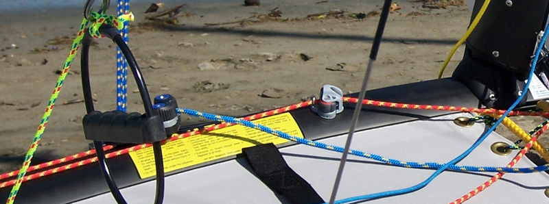 Hobie Forums • View topic - Jib sheet and traveler rigging