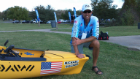 Quick picture of me and my boat at the Hobie Kayak Fishing World Championship near Austin, Texas.