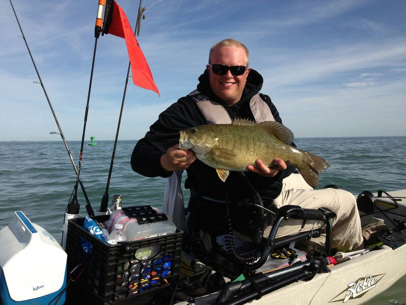 AJ McWhorter, Lake St. Clair, Michigan, Small Mouth Bass