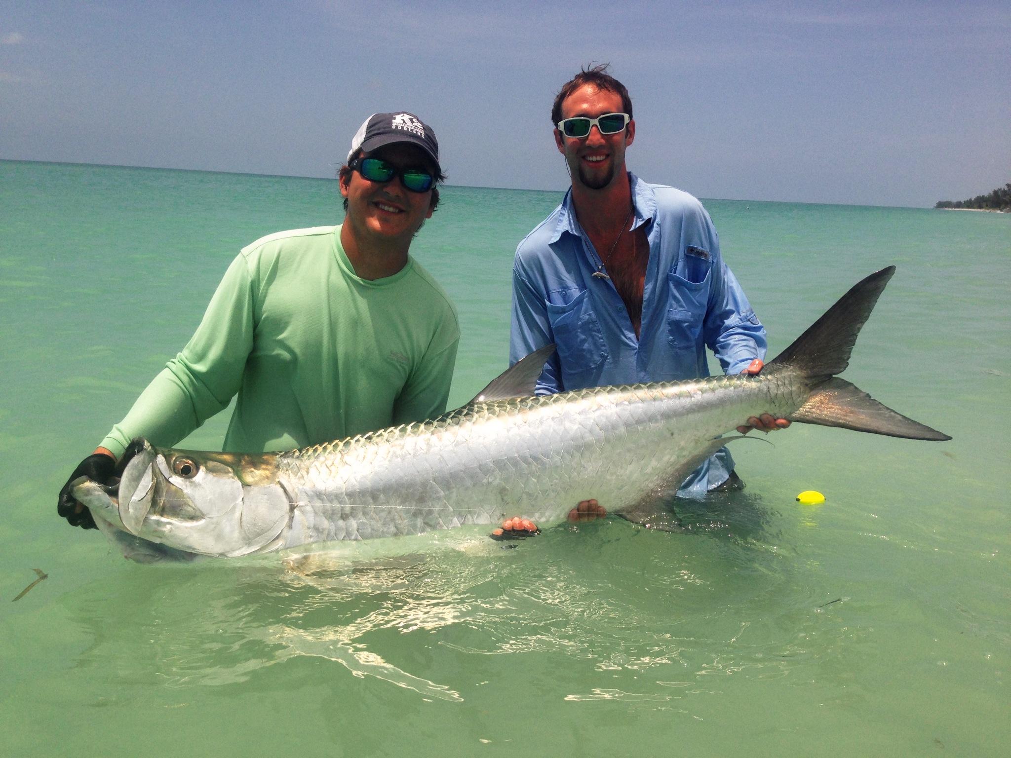 Tarpon fishing southwest florida beaches hobie for Fishing jobs in florida