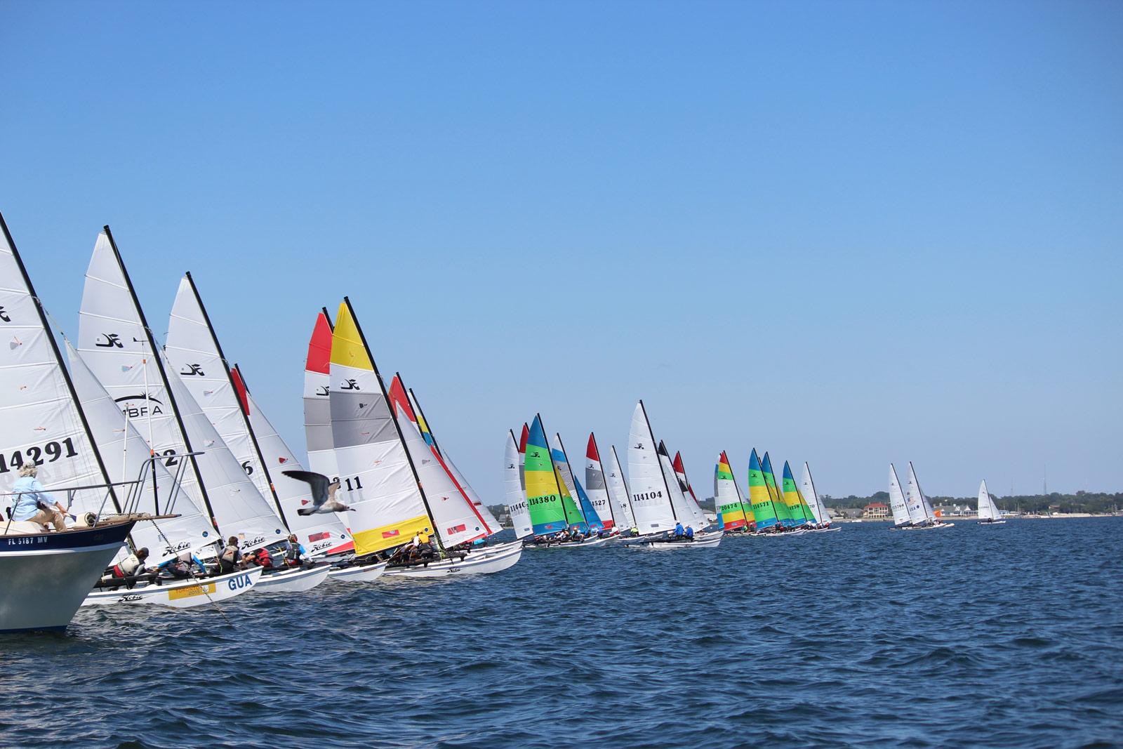 2015 Hobie 16 North American Championships - Catamaran Sailboat Racing